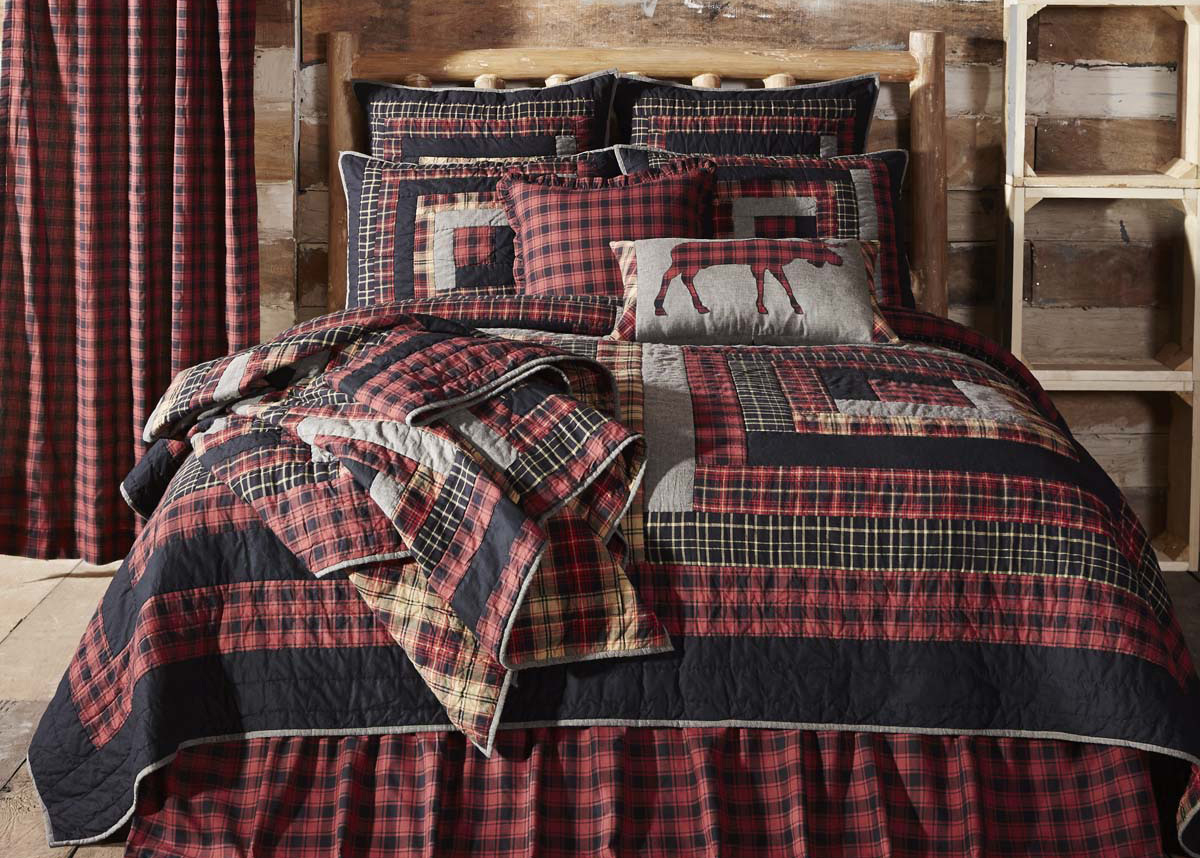 Rustic Home Decor - Cumberland Bedding Quilt Set