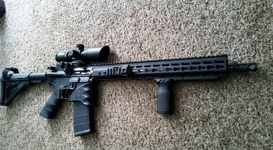 AR15 Customer Builds B Merril - Rousch Sports Austin Texas AR15