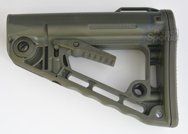 RSS Rogers Super Stoc Stock Deluxe Mil Spec OD Green M16 AR15 AR 15 M4 best discount available wholesale Austin Texas USA Rousch Sports