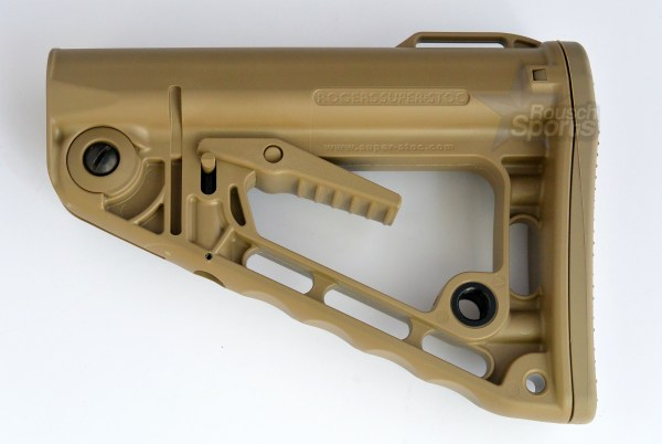 RSS Rogers Super Stoc Stock Deluxe Mil Spec Commercial FDE Flat Dark Earth 6.5 Grendel M16 M4 AR15 Austin Texas Best Discount Wholesale Price Accessories RIfle Pistol Handgun Long Gun
