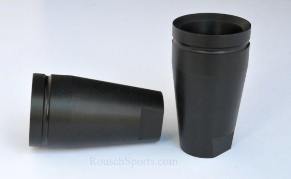 "Arkum Knight Concussion Diversion Device Flash Can Krinkov style Austin Texas USA M16 AR15 M4 .458 Socom 9mm Krinkov Flash Can Sound Forwarder 1/2""-28 5/8""-24 Black Nitride"