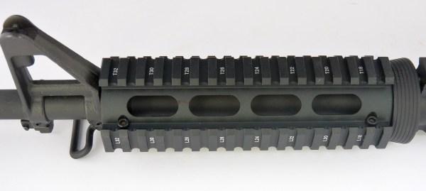 Carbine Length 2 Piece Drop in Quad Rail Handguard Forend - oval Hand Guard Best Discount Wholesale prices Austin Texas TX Rousch Sports