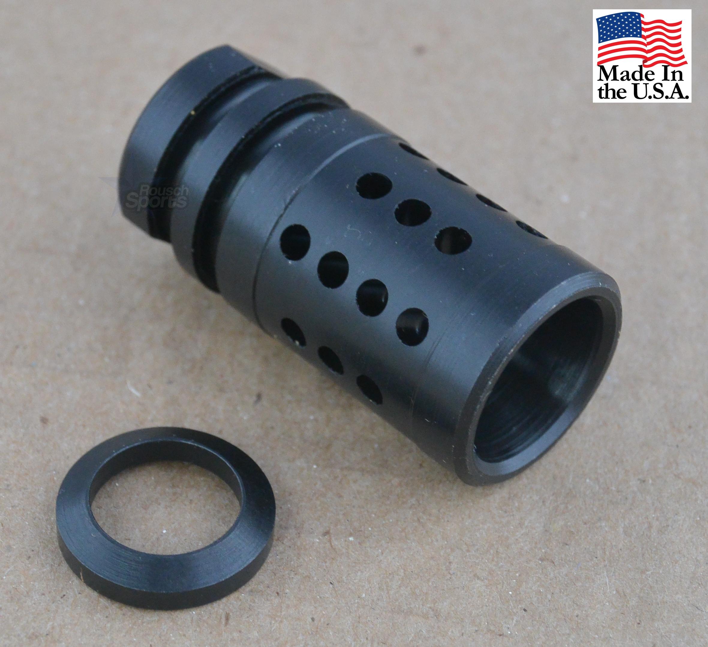 "A2 Fox Hole V1 Flash Hider Muzzle Device Half Cage 1/2""-28 5/8""-24 Best Wholesale Discount Prices AR15 M16 M4 Austin Texas USA"