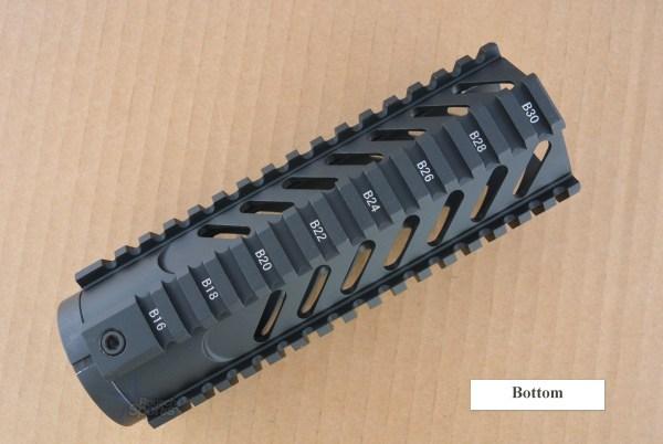 Slotted Gen 3 Free Float Quad Rail Handguard Forend- Carbine Length Hand Guard Best Discount Wholesale prices Austin Texas TX Rousch Sports