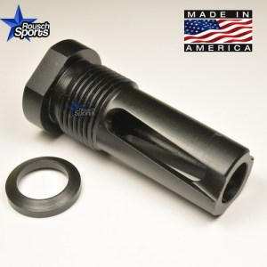 FRH V2 Flash Redirecting Multipurpose Muzzle Device Black Nitride .223 5.56 .308 AR 15 M4 M16 Best Discount Wholesale AR Parts and Accessories Austin Texas Oil filter adapter adaptor Solvent trap