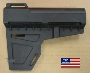 Kak Industry Shockwave Blade Pistol Stabilizer Black AR 15 M4 M16 Best Austin Discount Wholesale AR parts and accessories