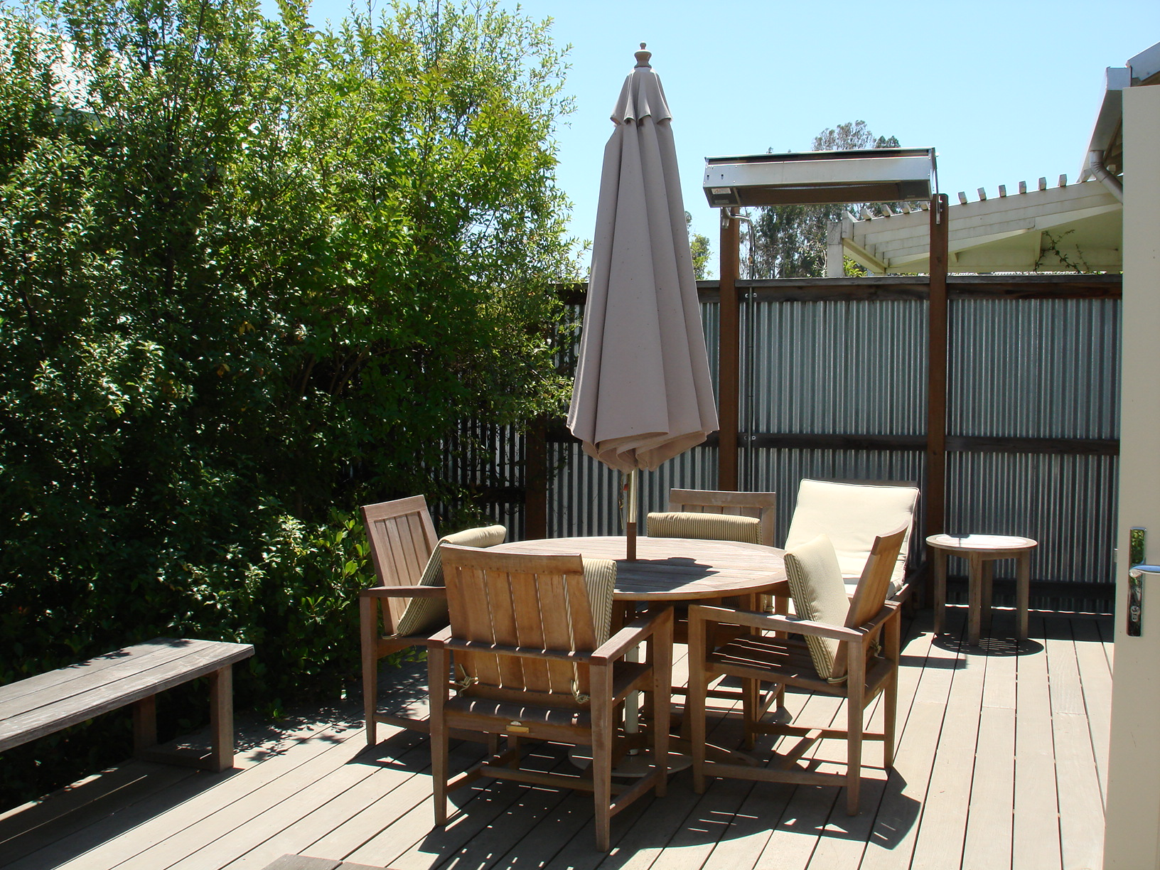 Private Deck and Yard