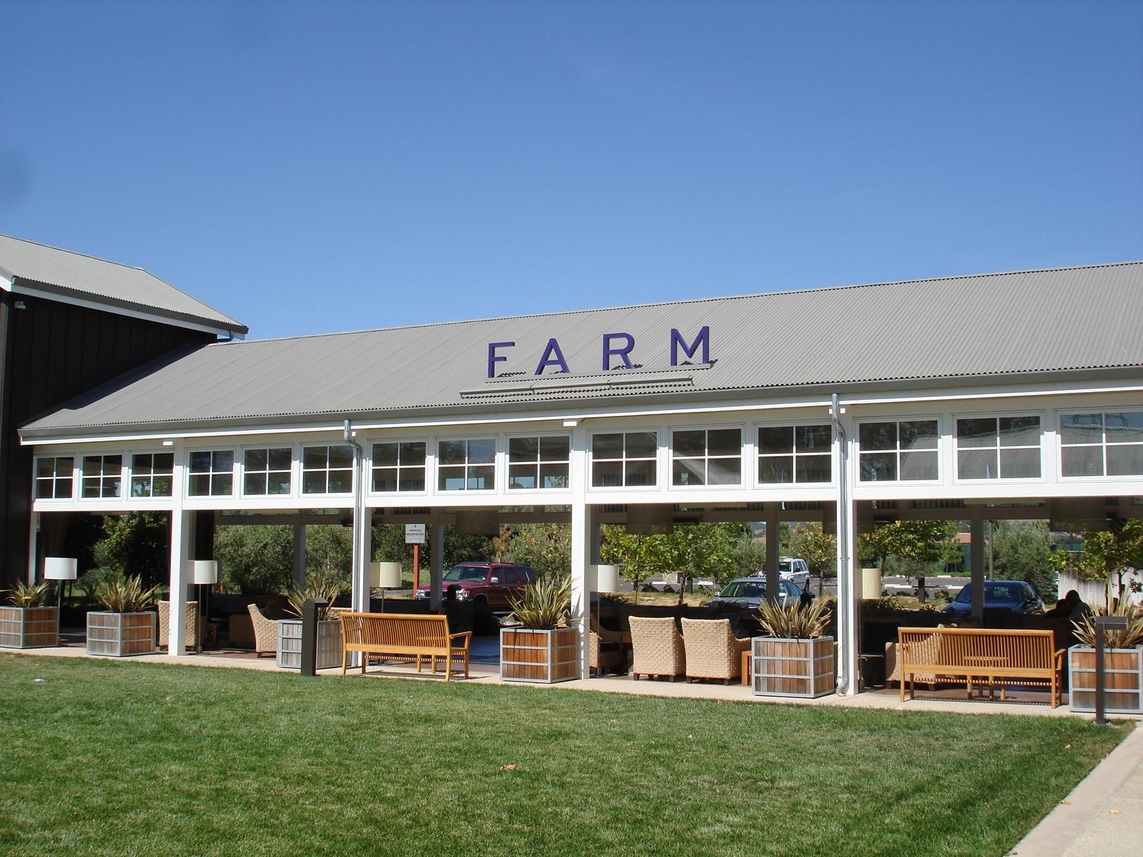 Farm Restaurant Outdoor Lounge