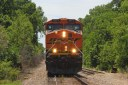 BNSF Railway freight train near Depew, OK