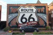 Pontiac Mural. Pontiac, IL