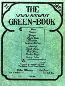Negro Motorist Green Book