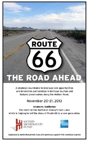 Route 66 The Road Ahead cover