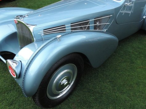 Bugatti Front Fender