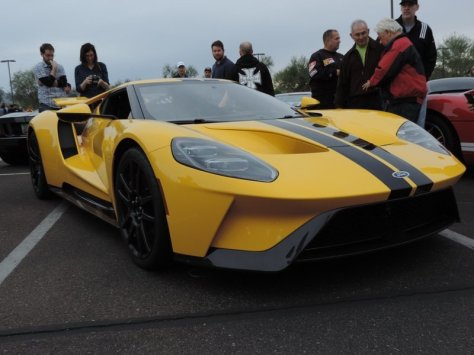 Cars and Coffee Ford GT