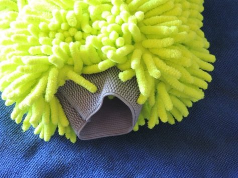 Chenille Car Wash Mitt Cuff