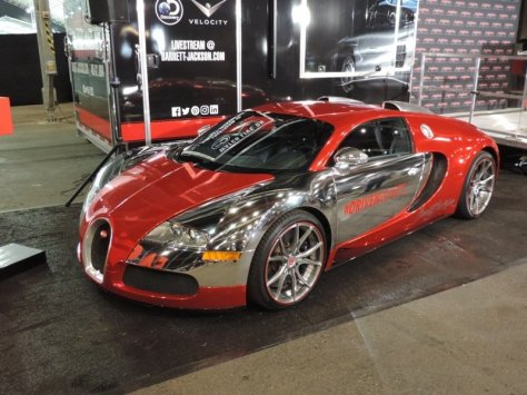 FAST Veyron Front Left View