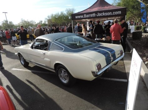 GT350 left rear