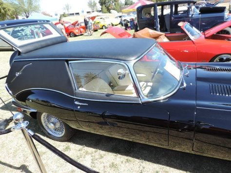 1967 Jaguar Hearse Side View