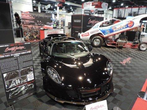Hennessey Venom GT Front View