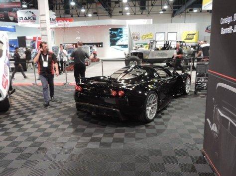 Hennessey Venom GT Rear view