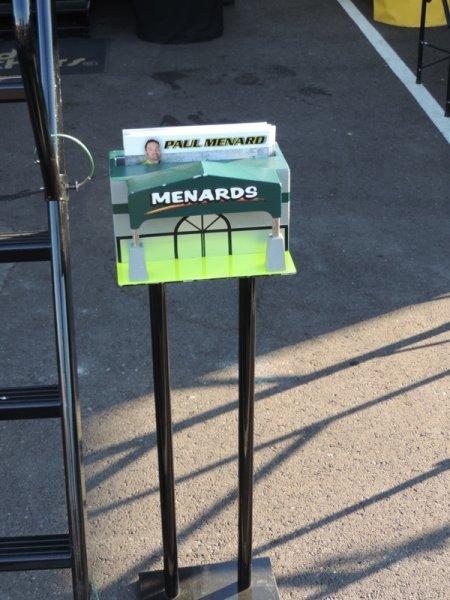 Menard Display