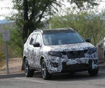 Nissan Rogue unveiled with candid pictures