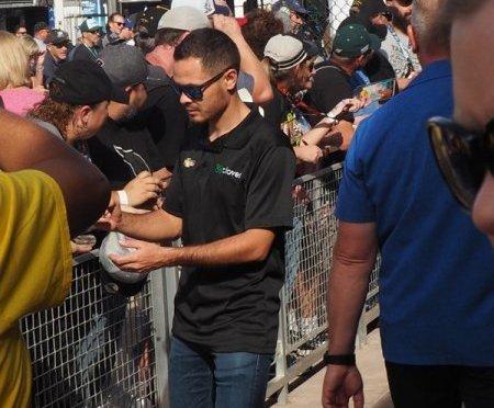 NASCAR Driver's Walk at ISM Raceway