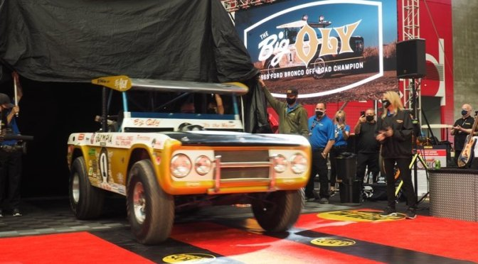 Big Oly – Pernelli Jones and a Baja Bronco