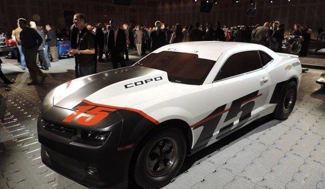 Chevrolet SEMA-Corvettes+COPO Camaro