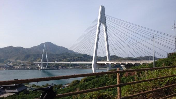 生口大橋への道を登ったところにある小さい公園