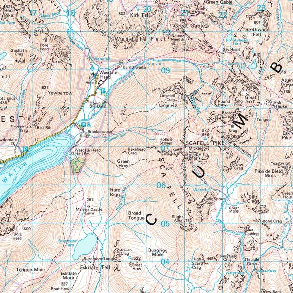 Visual Comparison of UK Topo Maps