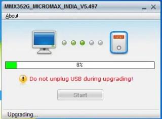 Micromax MMX352G Firmware update