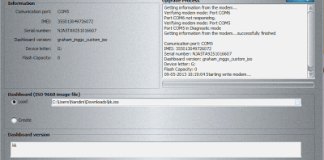 Download Huawei Dashboard Writer 0.0.0.8 beta version of DC Unlocker