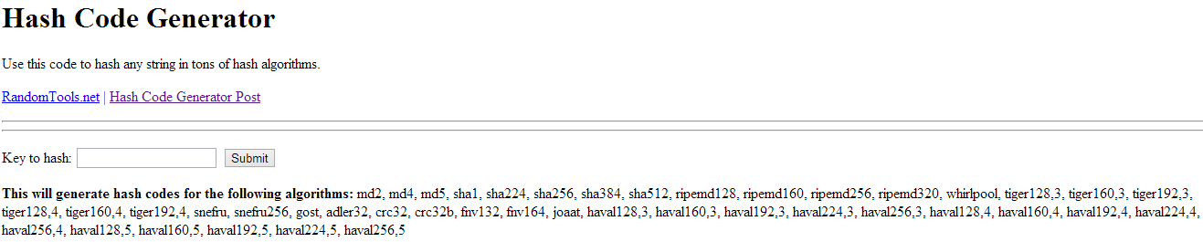 MD5 Hash Code Generator of Huawei New Algo Unlock Code
