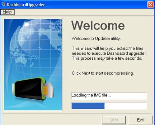 Alcatel Modem - Loading Img File