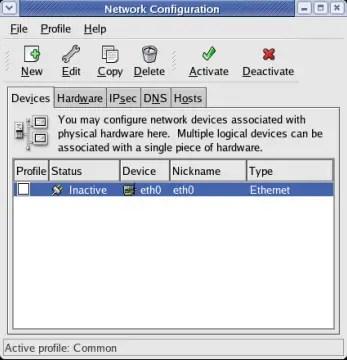 Linux Network Configuration