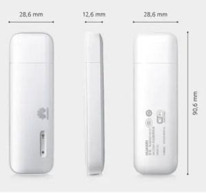 Huawei E8131 Dimension