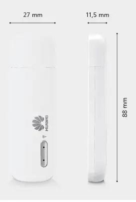 Huawei E8231 dimension