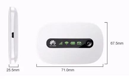 Huawei E5220 Dimension