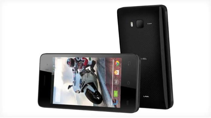 Lava Iris 406Q smartphone