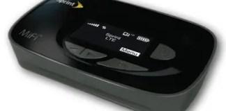 Novatel Wireless Sprint MiFi 500 4G LTE Router