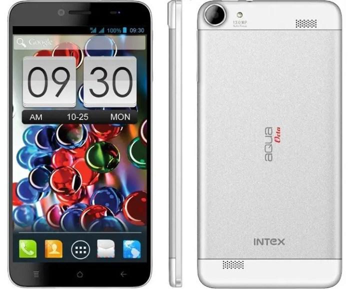 Intex AQUA OCTA 6-inch android smartphone