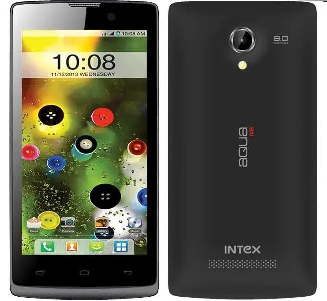 Intex Aqua N8 Android Smartphone