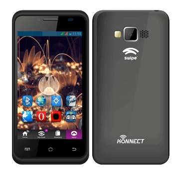 Swipe Konnect 4E Dual-SIM Android Smartphone in India