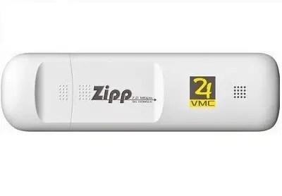Zipp W072 3G Data Card