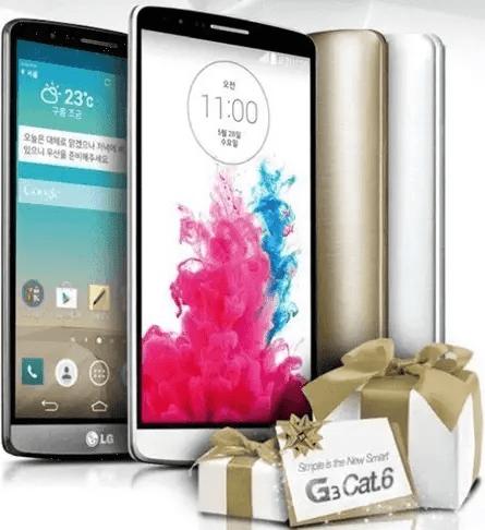 LG G3 Prime in Korea