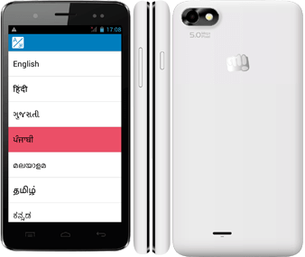 Micromax Bolt A069 Android KitKat Smartphone in India