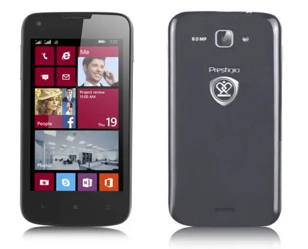 Prestigio MultiPhone 8400 DUO Dual SIM Smartphone in Russia