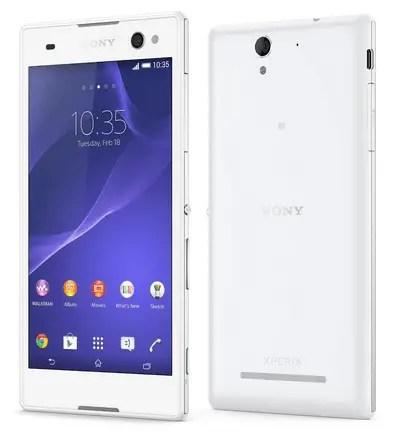 Sony Xperia C3 Dual PROselfie smartphone