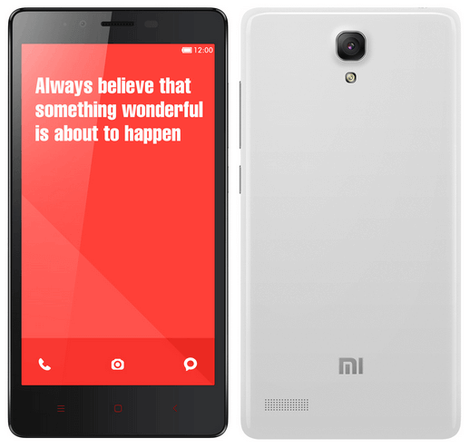 Xiaomi Redmi Note Android Smart Phone to Enter in India